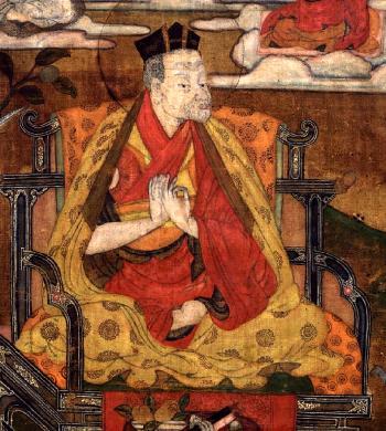 1. Karmapa - Düszum Tyenpa (1110-1193)