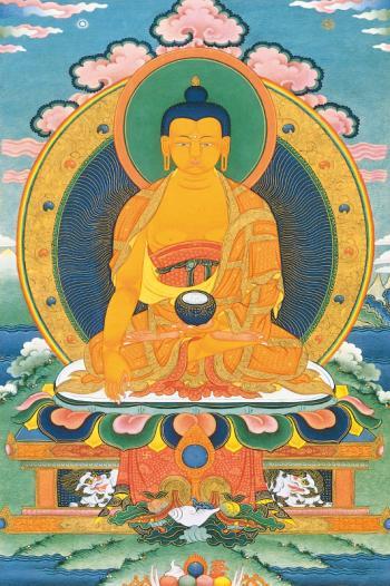 Buddha a Szkíta Bölcs - Buddha Sakjamuni