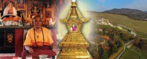 Láma Ngawang Ereklye Sztúpa Avatás @ Tara Templom - Tar