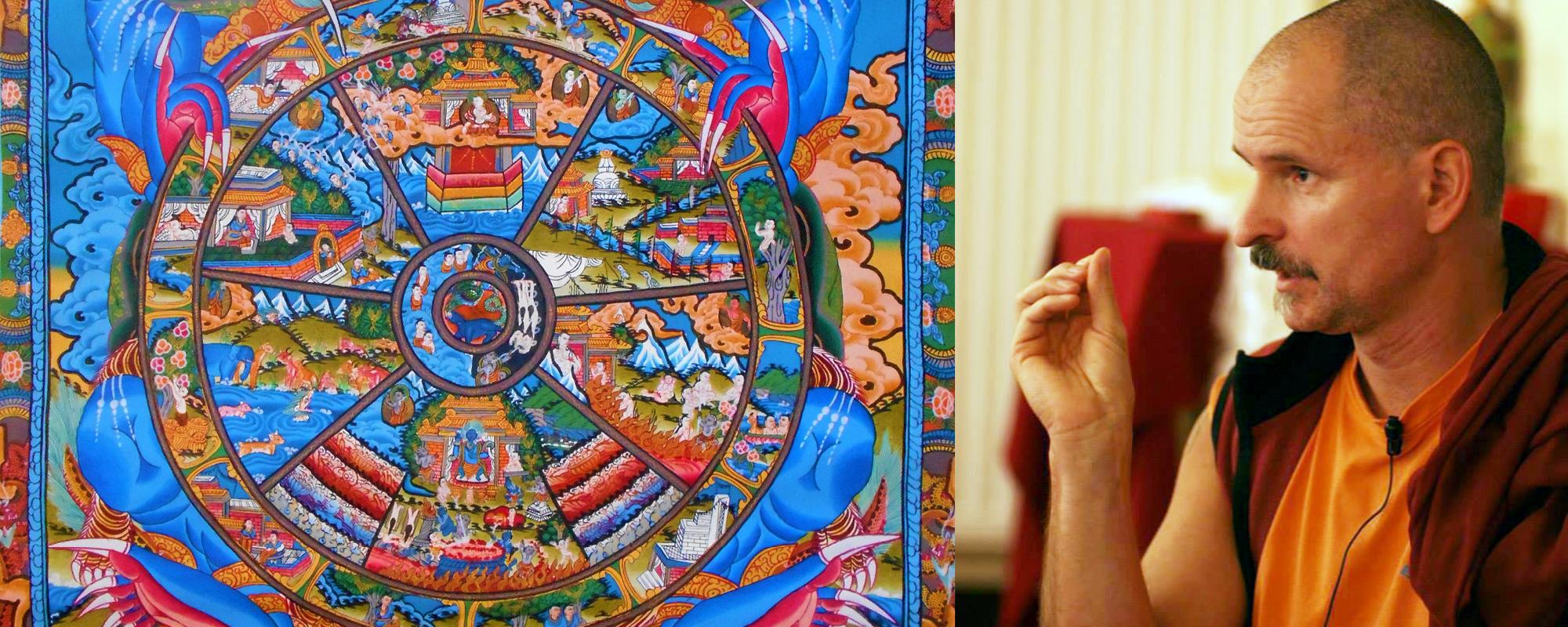 A Tiszta Földre és a hat világba születés okai - Lekshe Láma tanítása @ Karmapa Ház - Budapest