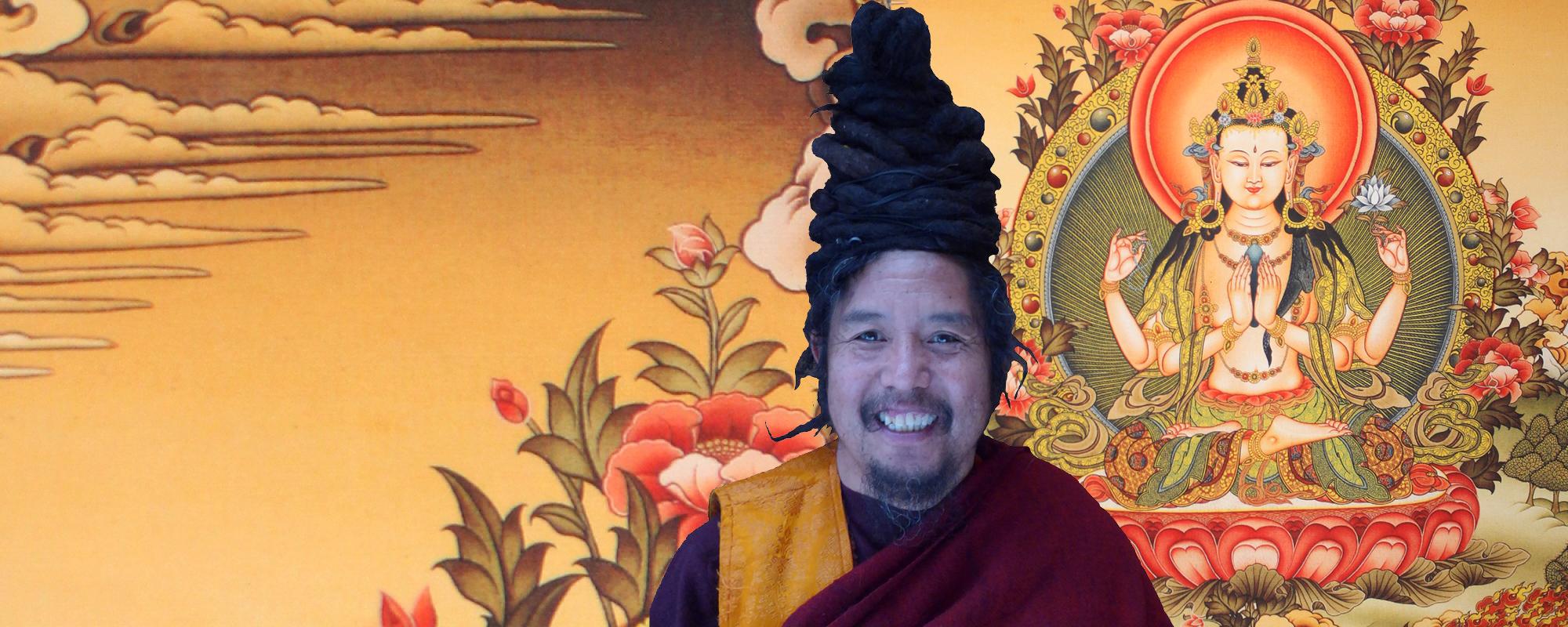 Khenpo Tashi Rinpocse Csenrézi meghatalmazást ad @ Karmapa Ház - Budapest | Budapest | Magyarország