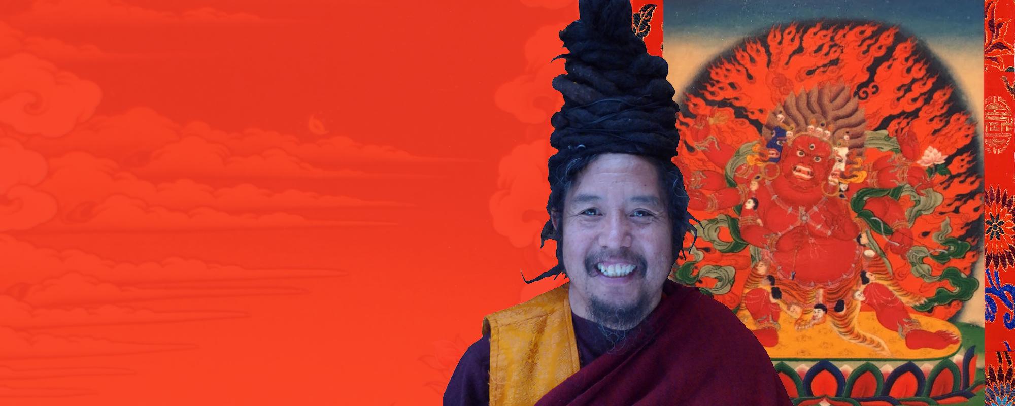 Khenpo Tashi Rinpocse Hajagríva meghatalmazást ad @ Karmapa Ház - Budapest   Budapest   Magyarország