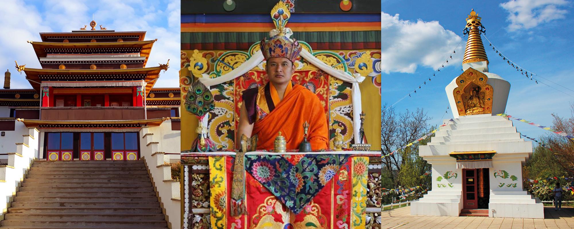 Csung Tulku Rinpocse megáldja a tari sztúpát és a Tara Templomot @ Kőrösi Csoma Sándor Emlékpark | Tar | Magyarország