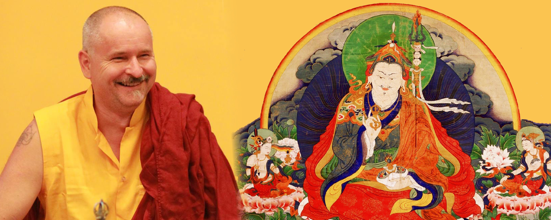 Lekshe Láma tanítása: Guru Rinpocse hétsoros imája @ Karmapa Ház | Budapest | Magyarország
