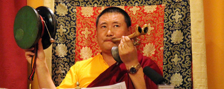 Cültrim Rinpocse Csö meghatalmazást ad @ Tara Templom - Tar | Tar | Magyarország