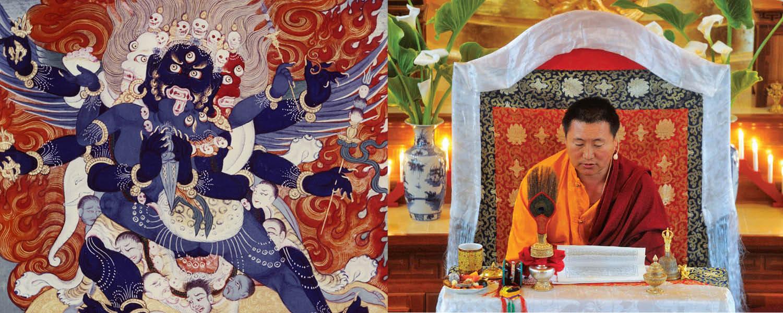 Cültrim Rinpocse Dordzse Phurba meghatalmazást ad @ Karmapa Ház | Budapest | Magyarország