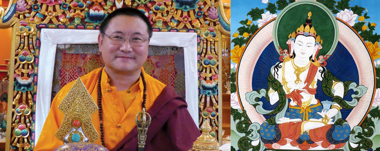 Cültrim Rinpocse Dordzse Szempa meghatalmazást ad @ Karmapa Ház | Budapest | Magyarország