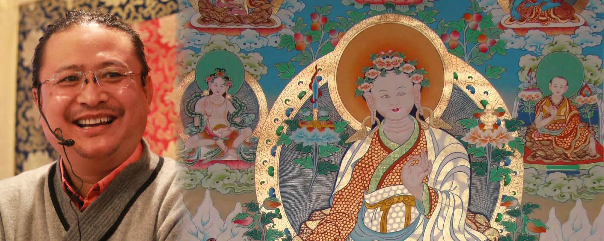 Dr. Nida Chenagtsang Juthok Nyingthig meghatalmazást ad @ Karmapa Ház | Budapest | Magyarország