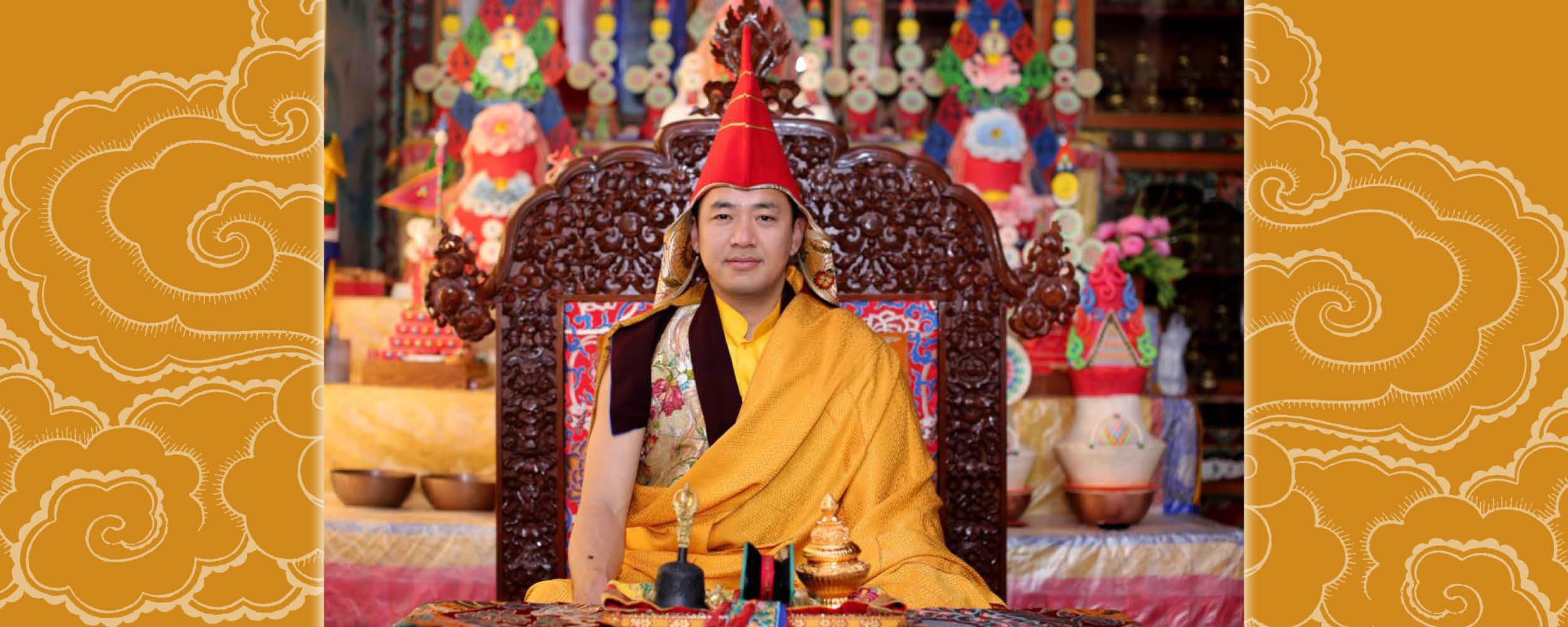 Dupsing Rinpocse élő online tanítássorozat