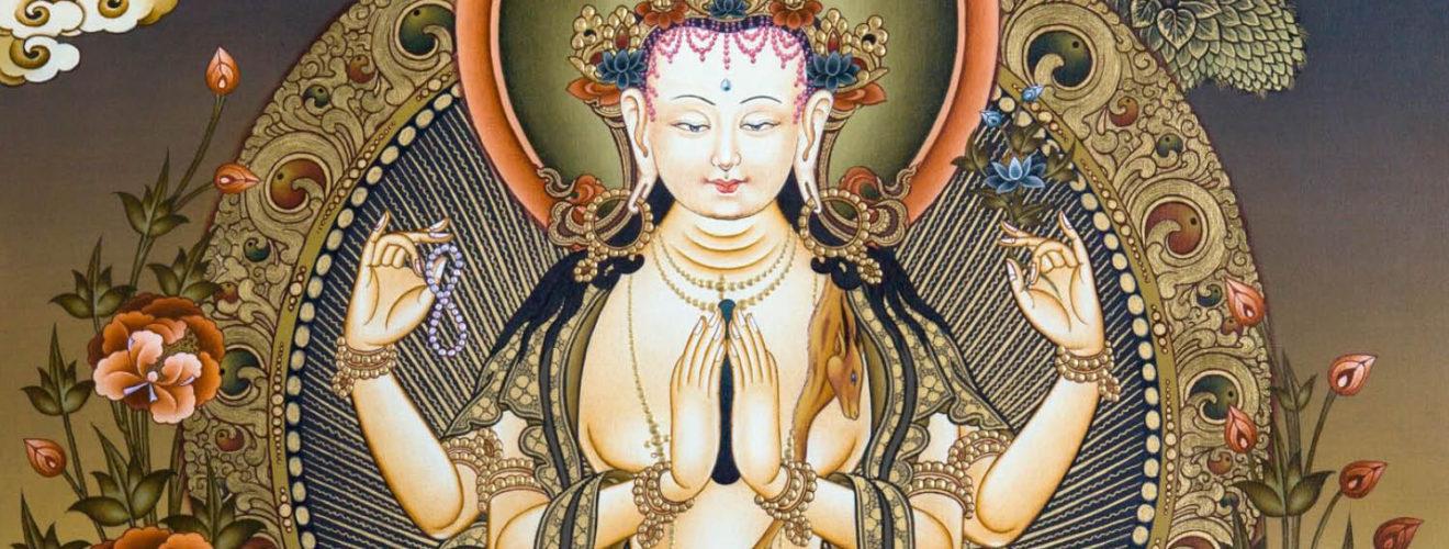 4 karú Csenrézi meditáció