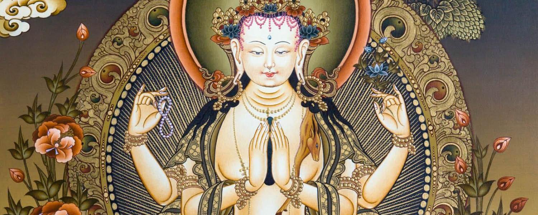 Élő online Csenrézi meditáció