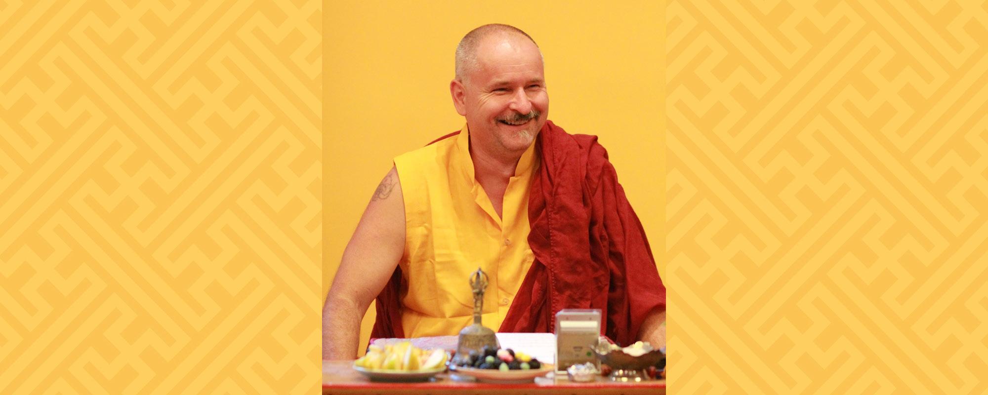 Lekshe Láma a Karmapa Házban - Siné és laktong meditáció  tanítás és gyakorlás